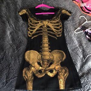 Dresses & Skirts - Black skeleton dress